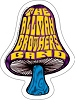 Allman Brothers Band - Shroom Bumper Sticker