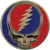 Grateful Dead - Metal Steal Your Face Sticker