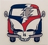 Grateful Dead - Steal Your VW Bus Slap Sticker
