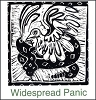Widespread Panic -  Dove & Snake Sticker