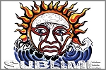 Sublime - Weeping Sun Magnet