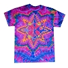 Psychedelic Star Tie Dye T-Shirt
