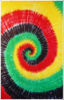 Rasta Tie Dye Tapestry On Sale At Sunshinedaydream Biz
