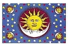 Sun, Moon, & Stars Tapestry Wall Hanging