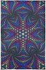 Twisted Rainbow Sun Tapestry