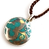 Om Swirl Necklace