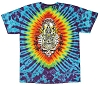 Grateful Dead - Double Skulls Tie Dye T-shirt