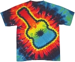Guitar Tie Dye Adult T-Shirt