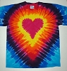 Youth Heart Tie Dye T-Shirt