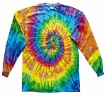Saturn Tie Dye Youth Long Sleeve T-Shirt