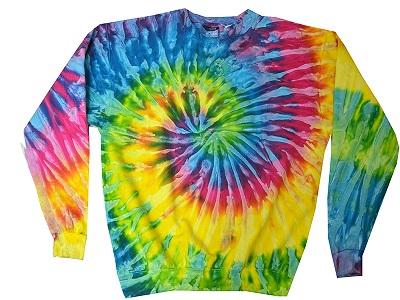 Tie Dye Sweatshirt On Sale At Sunshine Daydream Chicago