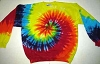 Tie Dye Adult Crew Neck Sweatshirt