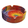 Tie Dye Ceramic Ashtray