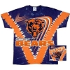 Chicago Bears - V-Dye Tie Dye T-Shirt