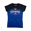 Chicago Cubs - World Series Champions Womens Tie Dye T-Shirt