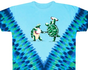 Grateful Dead Tie Dye Terrapins T Shirt Sunshine