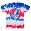 Grateful Dead - American Steal Your Face Tie Dye T-Shirt