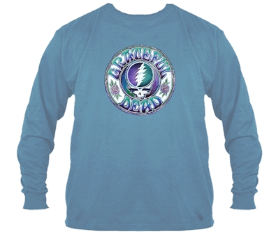 Grateful Dead Batik Steal Your Face Long Sleeve T Shirt