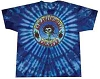 Grateful Dead - Skull and Roses Tie Dye T-Shirt