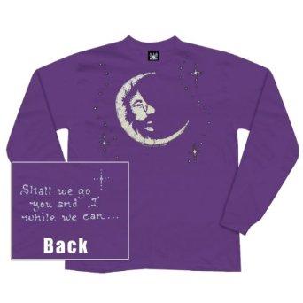 Jerry Garcia Moon Long Sleeve T Shirt Sunshine Daydream