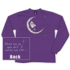 Jerry Garcia -  Long Sleeve Moon T-Shirt