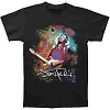 Jimi Hendrix - Angel Black Athletic T-Shirt