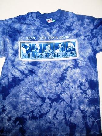 Phil Lesh Amp Friends Smiles Crinkle Dye T Shirt