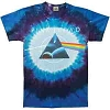 Pink Floyd - Dark Side Galaxy Tie Dye T-Shirt