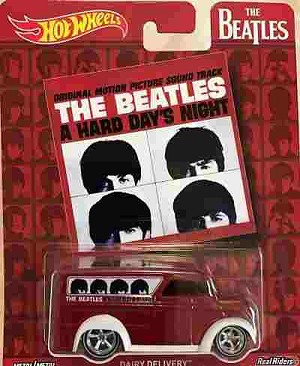 Beatles - Hot Wheels  Hard Day's Night Dairy Delivery