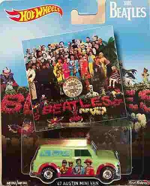 Beatles - Hot Wheels Sgt. Pepper Austin Mini Van