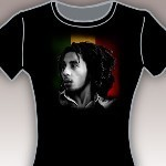 Bob Marley - Away Junior's T-Shirt