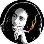 Bob Marley - Spliff Button