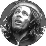 Bob Marley - Uprising Button