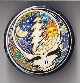 Grateful Dead - Psychedelic SYF Button