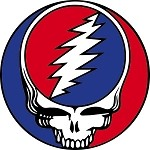 Grateful Dead - Classic Steal Your Face Button