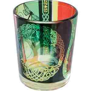 Tree of Life Glass Candle Holder