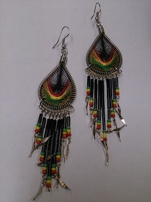 Rasta Dream Weaver Earrings