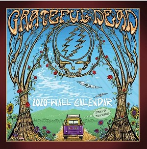 Grateful Dead Calendar 2020 - Official