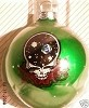 Grateful Dead - Space Your Face Green Ornament