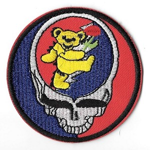 Grateful Dead - Steal Your Bear Embroidered Patch