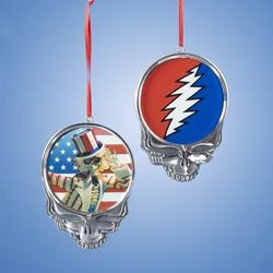 Grateful Dead - Skull Ornament
