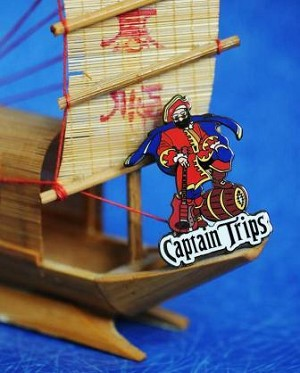 Jerry Garcia - Capt. Trips Pin