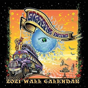 Grateful Dead Calendar 2021 - Official