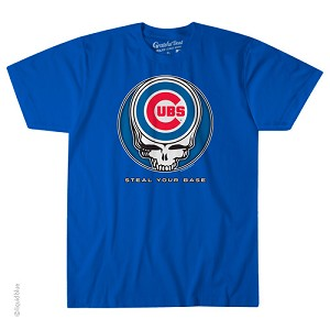 Grateful Dead - Chicago Cubs Steal Your Base T-Shirt