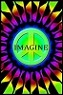 Imagine Peace Blacklight Poster