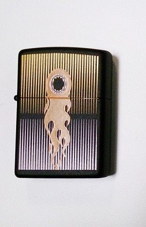 Flame Trail Zippo Lighter