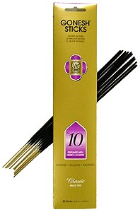 Gonesh - #10 Herbs and Flowers Incense Sticks