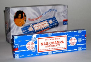 Nag Champa - Incense 100 Stick Box