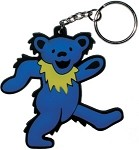 Grateful Dead - Blue Dancing Bear Keychain