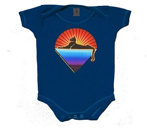 Jerry Garcia - Cats Under The Stars Baby Onesie